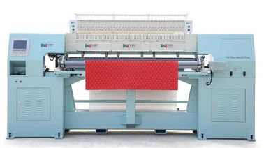 Effective Sofa Cover High Speed Quilting Machine With Large Rotary Hook